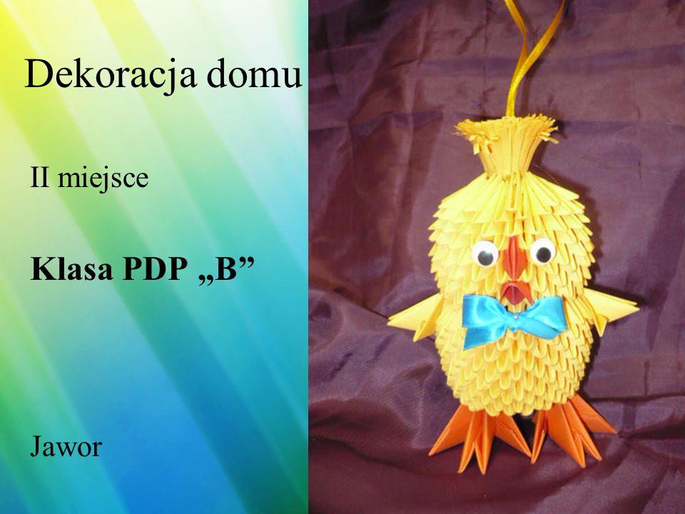 Dekoracja domu II miejsce Piotr Ciołek SOS-W Nr 10 Wrocław