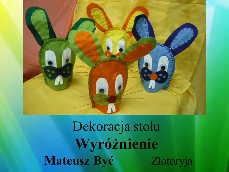 Dekoracja domu I miejsce Bogdan Węglarz Krystian Bernadzikowski Milicz