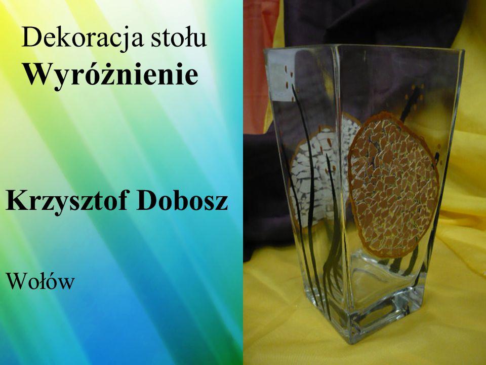 Dekoracja stołu Wyróżnienie Joanna Kania HANDICAP Wrocław
