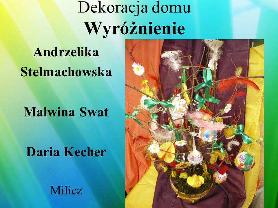 Dekoracja stołu Wyróżnienie Agnieszka Halczuk Trzebnica