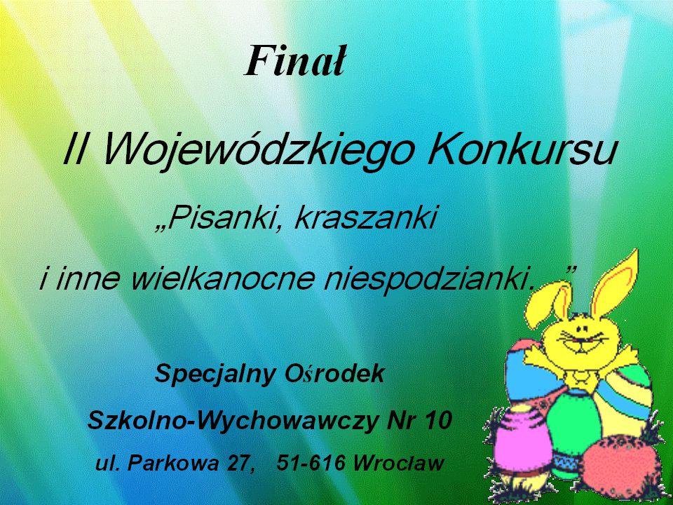 Dekoracja domu Wyróżnienie Paweł Głowacki SOS-W Nr 10 Wrocław