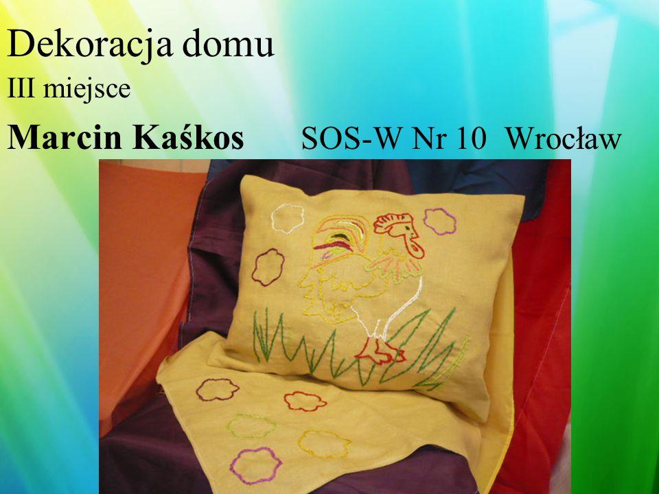 Dekoracja stołu I miejsce- Bożena Kubasik Piława Górna