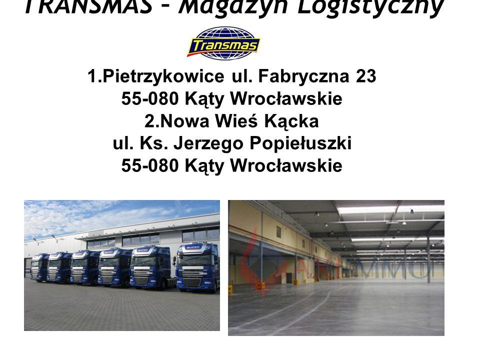 TRANSMAS – Magazyn Logistyczny 1.Pietrzykowice ul.