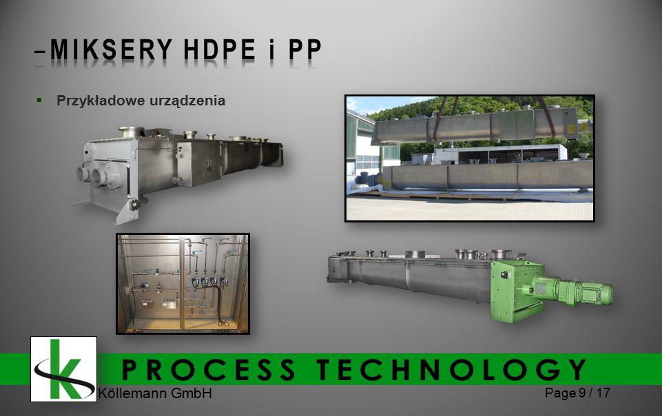 Köllemann GmbH Page 9 / 17  Przykładowe urządzenia