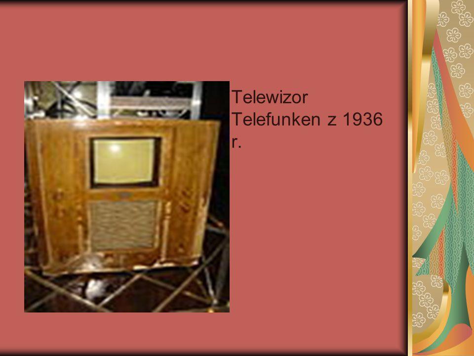 Telewizor Telefunken z 1936 r.