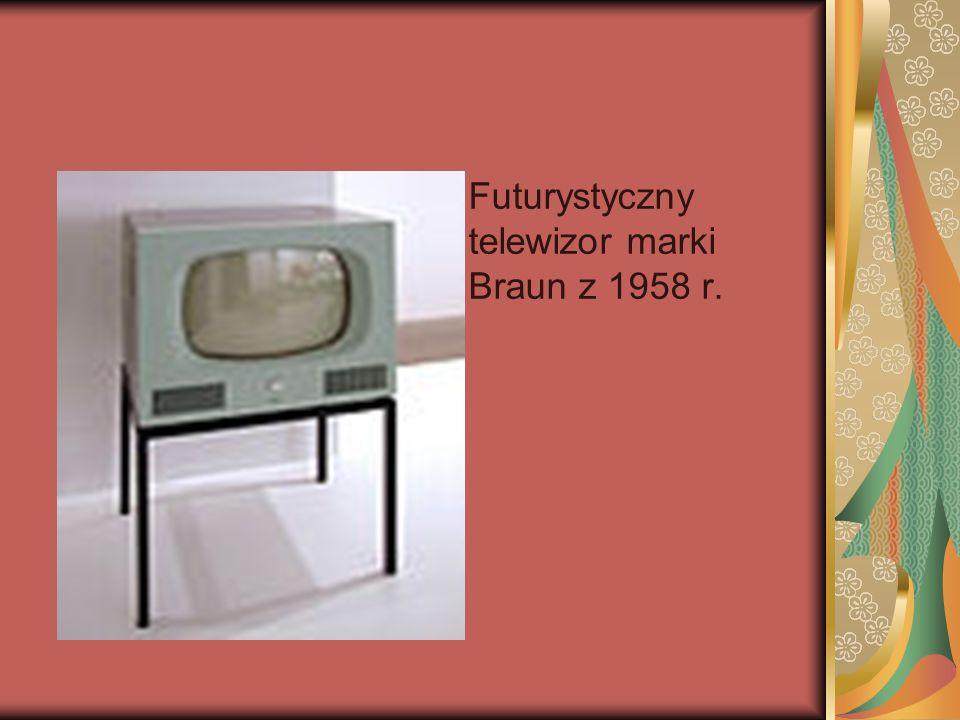 DesignerskiDesignerski, szwedzki telewizor Lumavision LT 104 z 1959 r. szwedzki