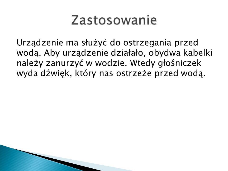  Stworzenie sygnalizatora: Aleksandra Bondyra  Stworzenie prezentacji: Szymon Maciocha i Krzysztof Kilarski