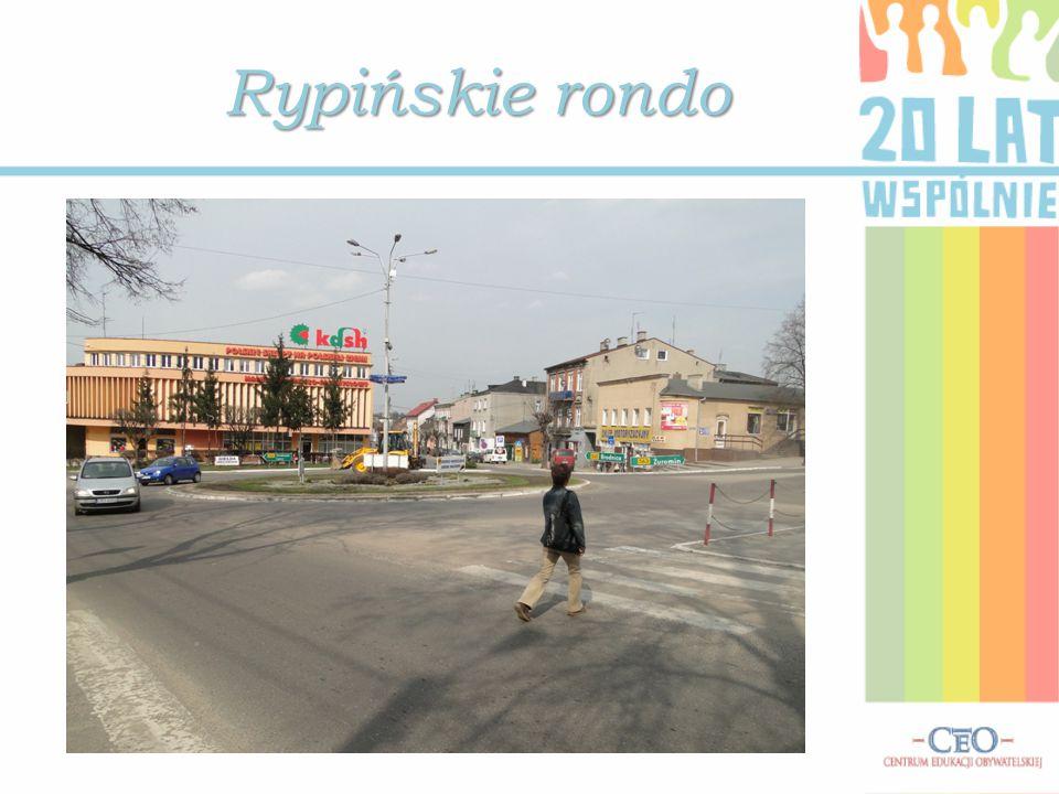Rypińskie rondo Zdjęcia ze zbioru MZD w Rypinie