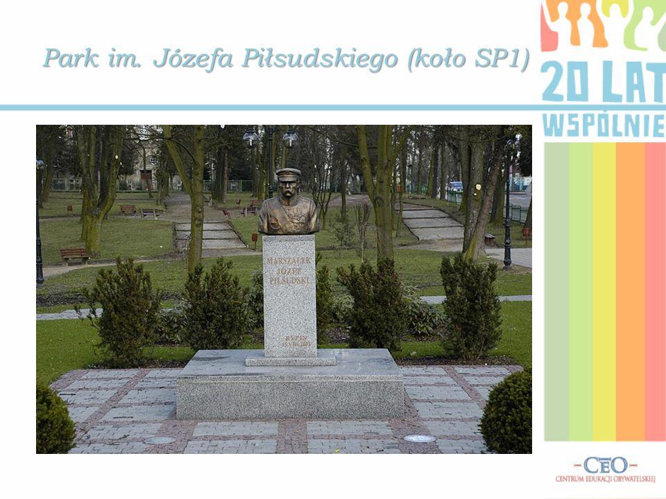 Park im. Józefa Piłsudskiego (koło SP1)