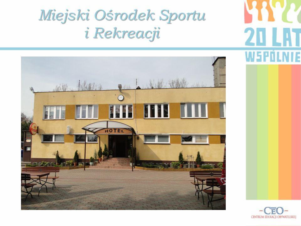 Miejski Ośrodek Sportu i Rekreacji Zdjęcie ze zbioru Pani Ireny Szalkowskiej