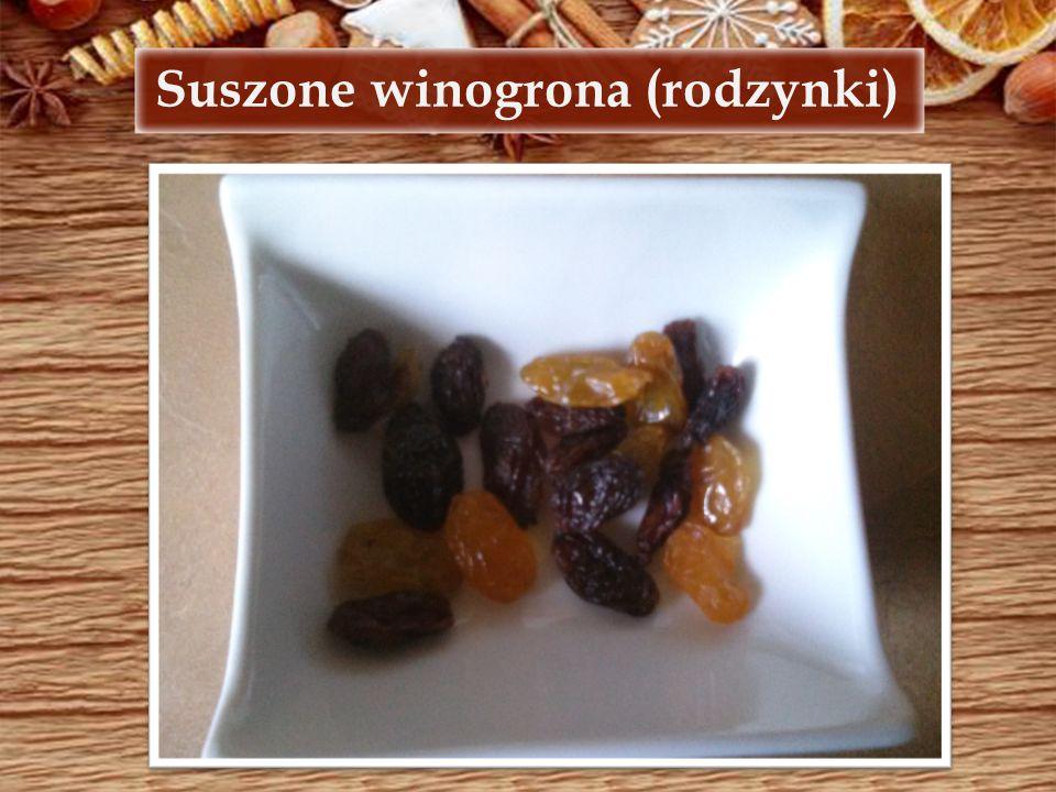 Suszone winogrona (rodzynki)