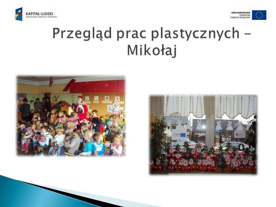 Przegląd prac plastycznych - Mikołaj