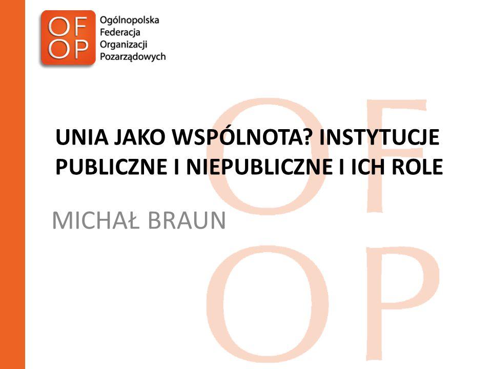 DZIĘKUJĘ Michał Braun michal.braun@ofop.eu
