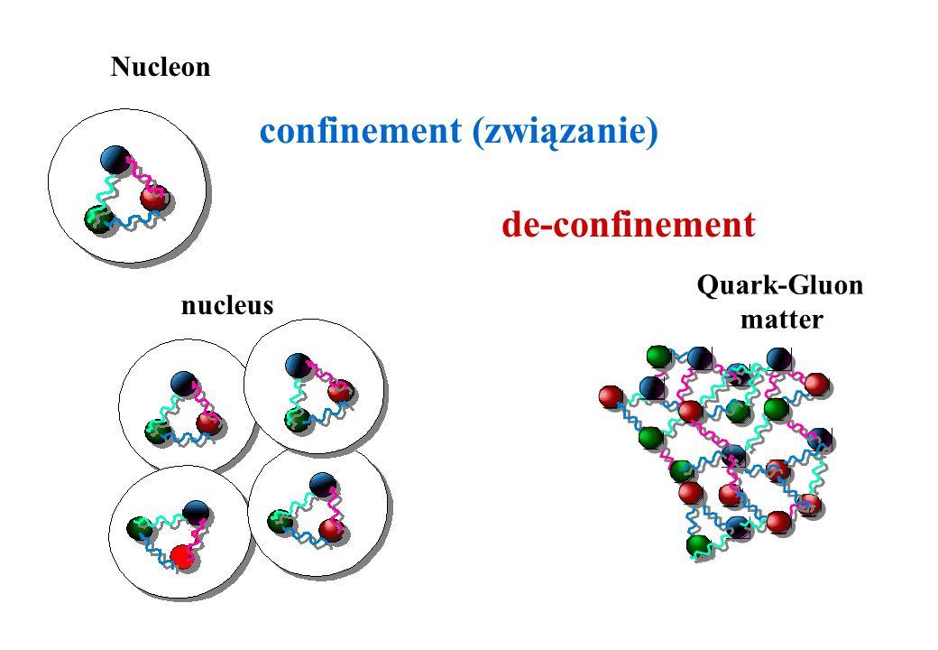 Jak zbadać własności materii 10 mikrosekund po wielkim wybuchu? Czy własności hadronów (ich masy, rozpady) były wtedy takie jak dziś? poprzez produkcj