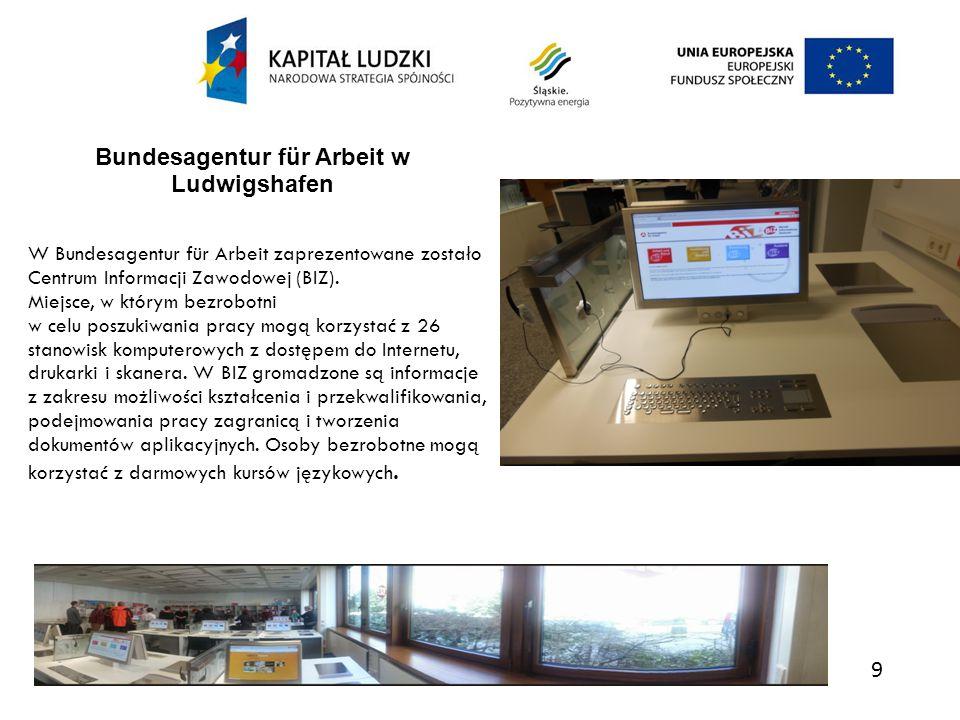 10 wizyta w zakładzie pracy chronionej Lebenshilfe Ortsvereinigung Heidelberg e.V., kt ó ry istnieje od 1962 roku.