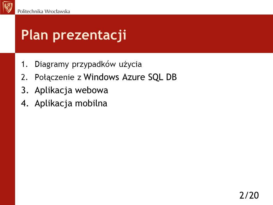 Win Azure SQL DB via ADO.NET EF 13/20