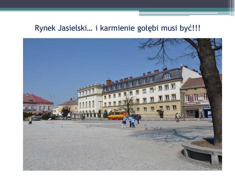 Rynek Jasielski… i karmienie gołębi musi być!!!