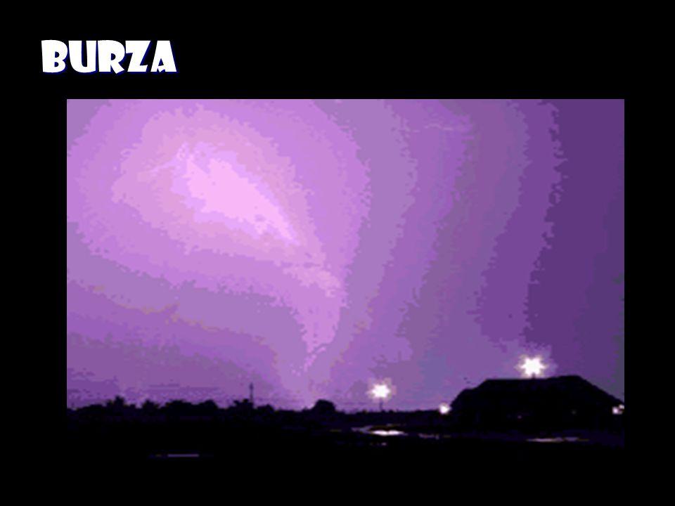 Jak powstaje burza? Powietrze w górnych warstwach atmosfery jest o wiele zimniejsze niż przy powierzchni Ziemi. Ciepłe powietrze jest lżejsze od zimne