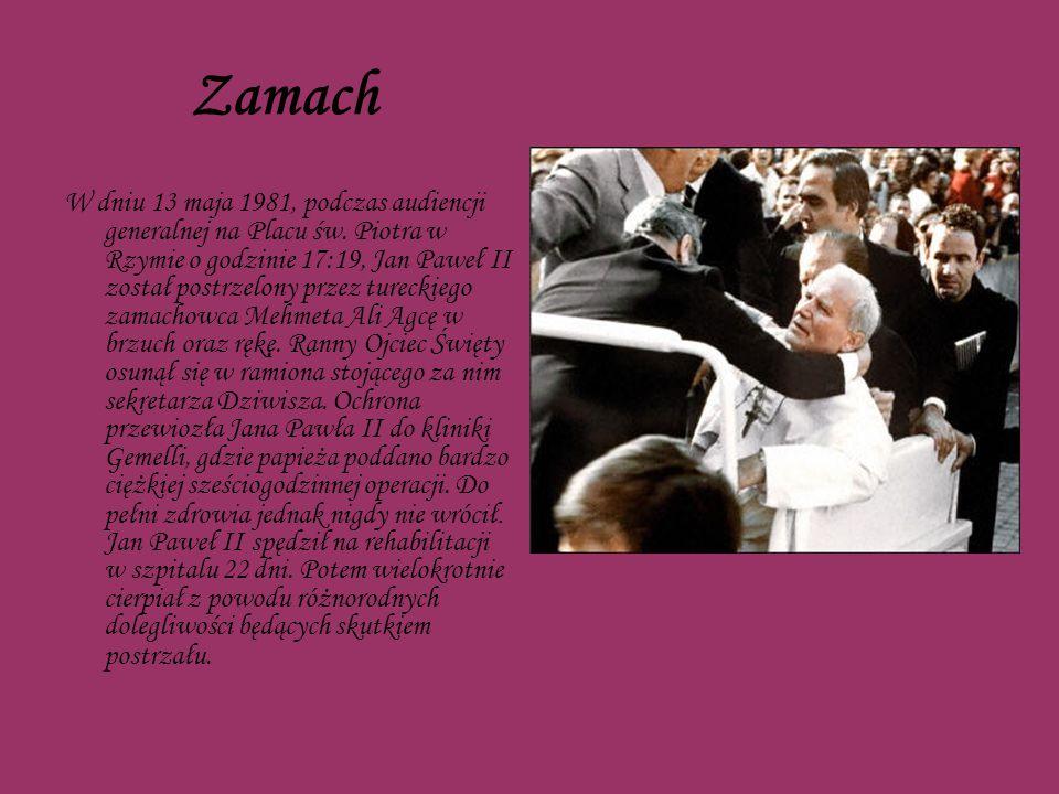 Śmierć W czwartek 31 marca tuż po godzinie 11, gdy Jan Paweł II udał się do swej prywatnej kaplicy, doznał silnych dreszczy, po których dostał temperatury 39,6 stopnia.