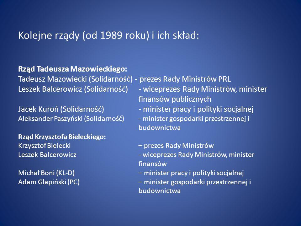 Wyniki wyborów parlamentarnych do Sejmu w 1991 roku: Komitet WyborczyGłosy % głosówMandaty % mandatów Unia Demokratyczna1 382 05112,32%6213,5% Sojusz Lewicy Demokratycznej1 344 82011,99%6013,0% Wyborcza Akcja Katolicka980 3048,74%4910,7% Porozumienie Obywatelskie Centrum977 3448,71%449,6% Polskie Stronnictwo Ludowe - SP972 9528,67%4810,4% Konfederacja Polski Niepodległej841 7387,50%4610,0% Kongres Liberalno-Demokratyczny839 9787,49%378,0% Porozumienie Ludowe 613 6265,47%286,1% NSZZ Solidarność 566 5535,05%275,9% Polska Partia Przyjaciół Piwa367 1063,27%163,5% Chrześcijańska Demokracja265 1792,36%51,1% Unia Polityki Realnej253 0242,26%30,7% Solidarność Pracy 230 9752,06%40,9% Stronnictwo Demokratyczne159 0171,42%10,2% Mniejszość Niemiecka132 0591,18%71,5% Frekwencja w wyborach do Sejmu wyniosła 43,20%; głosów nieważnych było 5,63%.