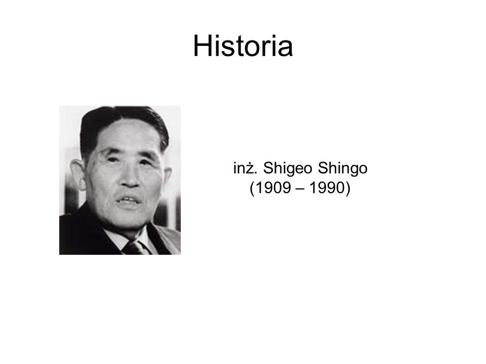 Historia inż. Shigeo Shingo (1909 – 1990)