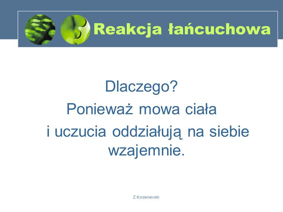Z.Korzeniewski Reakcja łańcuchowa Dlaczego.