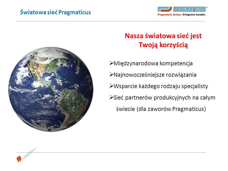 Światowa sieć Pragmaticus Nasza światowa sieć jest Twoją korzyścią  Międzynarodowa kompetencja  Najnowocześniejsze rozwiązania  Wsparcie każdego ro