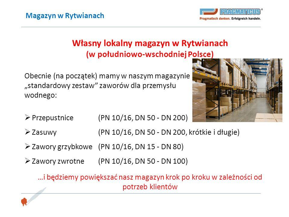 """Magazyn w Rytwianach Własny lokalny magazyn w Rytwianach (w południowo-wschodniej Polsce) Obecnie (na początek) mamy w naszym magazynie """"standardowy z"""