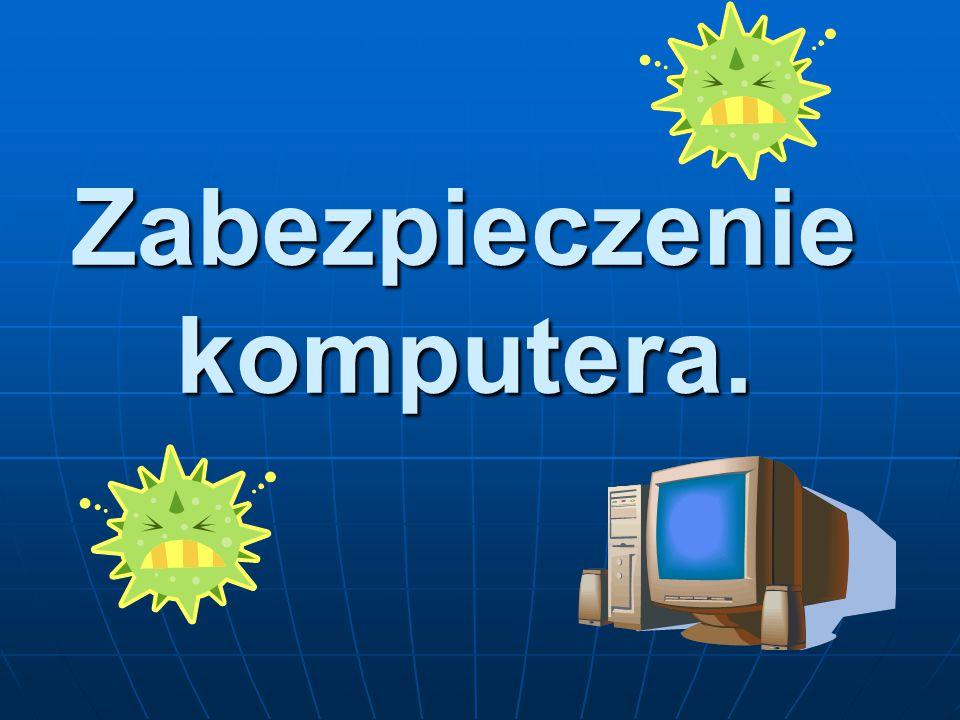 Programy antywirusowe Program antywirusowy – program komputerowy którego zadaniem jest wykrywanie, zwalczanie i usuwanie wirusów.