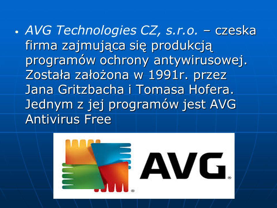 – czeska firma zajmująca się produkcją programów ochrony antywirusowej. Została założona w 1991r. przez Jana Gritzbacha i Tomasa Hofera. Jednym z jej