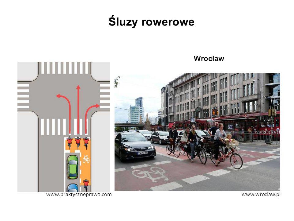 Śluzy rowerowe www.wroclaw.plwww.praktyczneprawo.com Wrocław