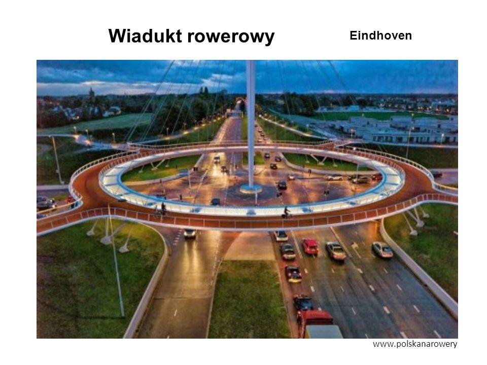 Wiadukt rowerowy www.polskanarowery Eindhoven
