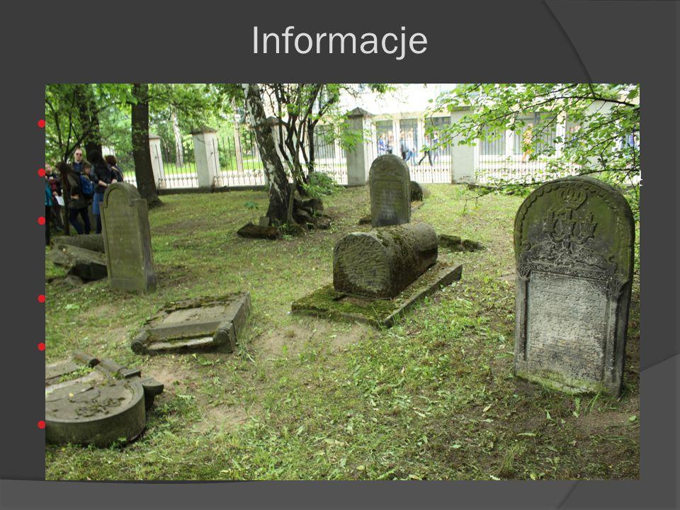 Został założony w 1760 roku Znajduje się W Grodzisku Mazowieckim pod Warszawą Obecnie znajduje się tam 8 razy mniej nagrobków niż przez 1 wojną świato