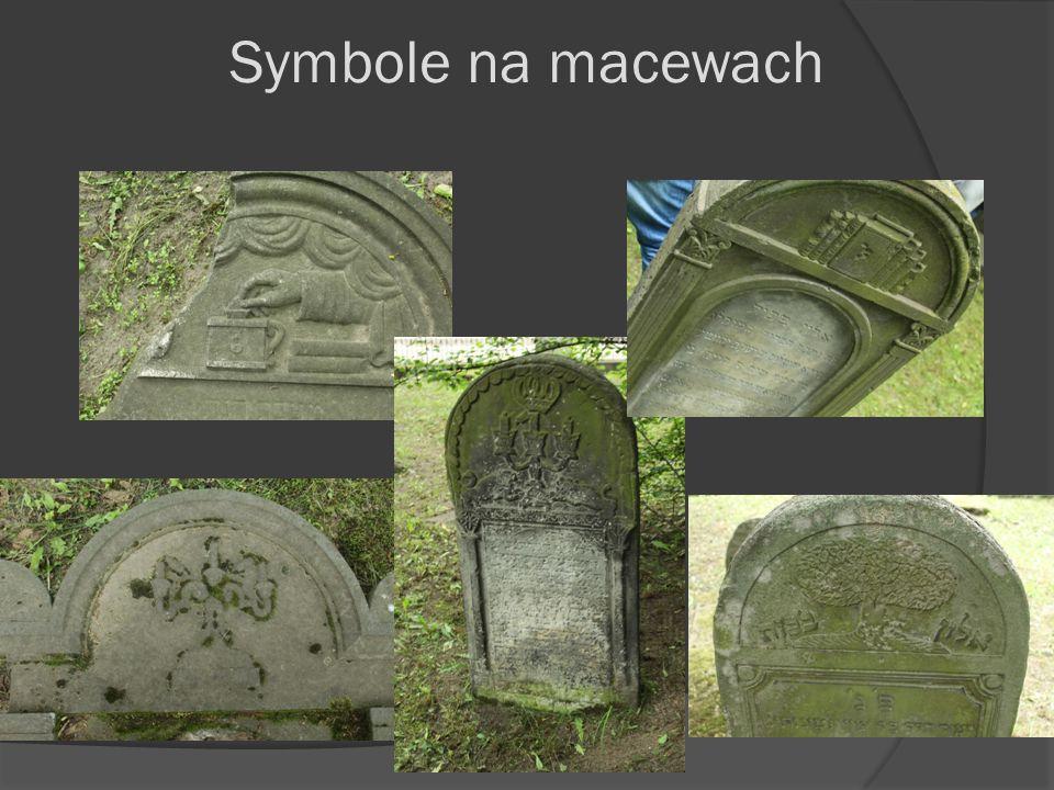 Symbole na macewach
