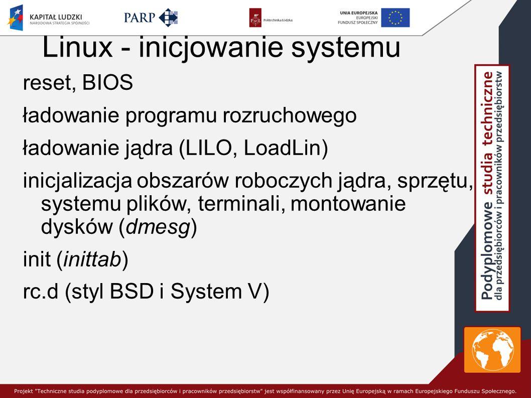 Ochrona kont użytkowników konta bez haseł tomek::101:100:Tomasz Bezhasla:/home/tomek:/bin/bash konta grupowe martwe konta usermod...