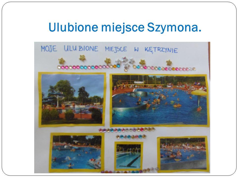 Łukasz z rodziną spędzają czas nad Kętrzyńskim Jeziorkiem.