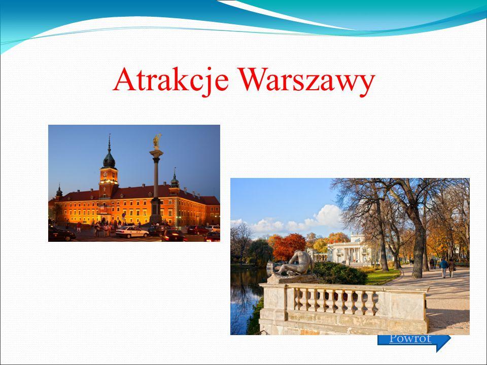 Atrakcje Warszawy Powrót