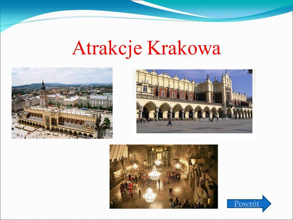 Atrakcje Krakowa Powrót