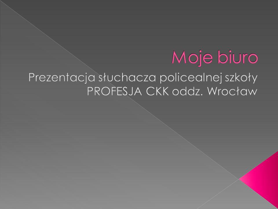  Biuro znajduję się w centrum miasta  Adres biura: Wrocław, Rynek 26/2  Profesja CKK oddz.