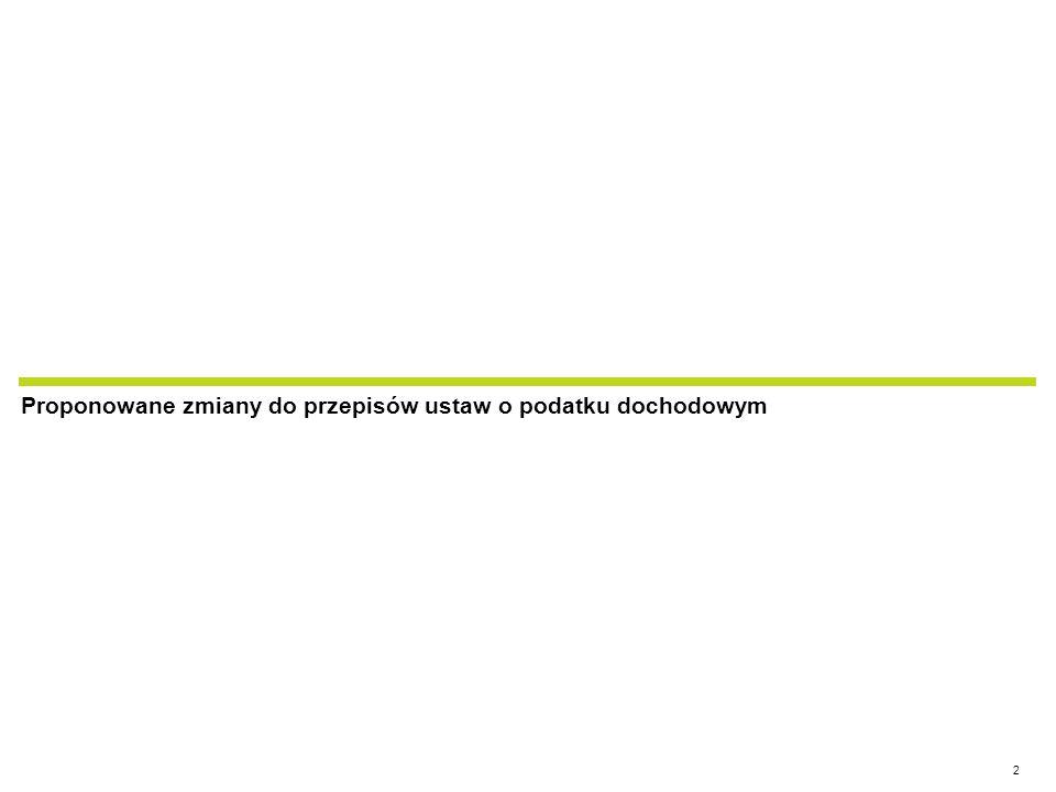 www.hoganlovells.com Problem: Brak rozwiązań podatkowych dot.