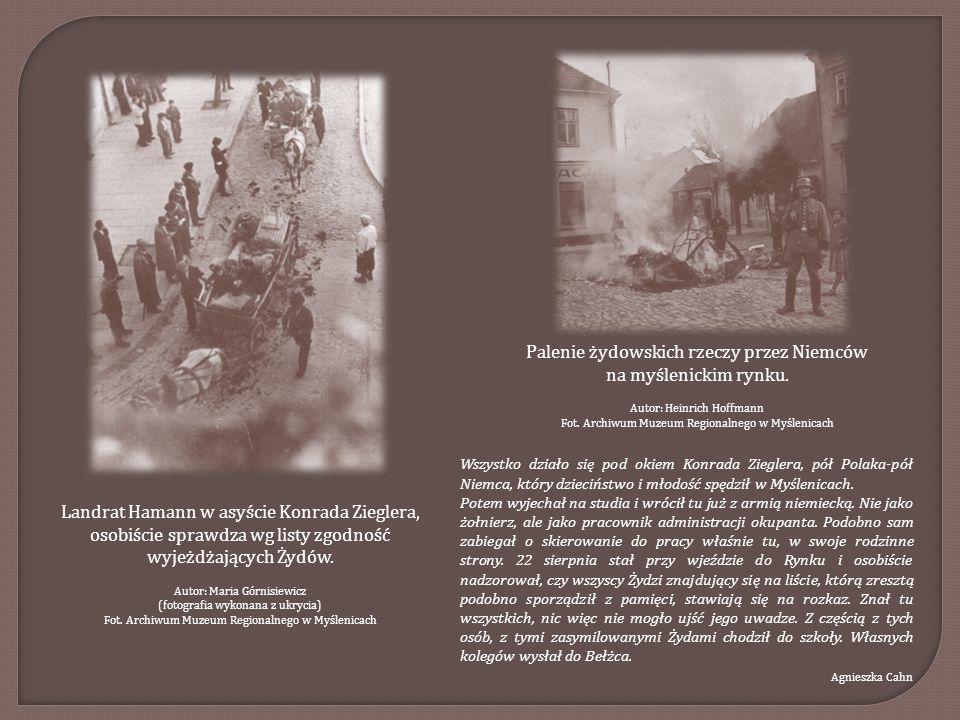 Tablica upamiętniająca deportację Żydów z Myślenic w dniu 22 sierpnia 1942 r.