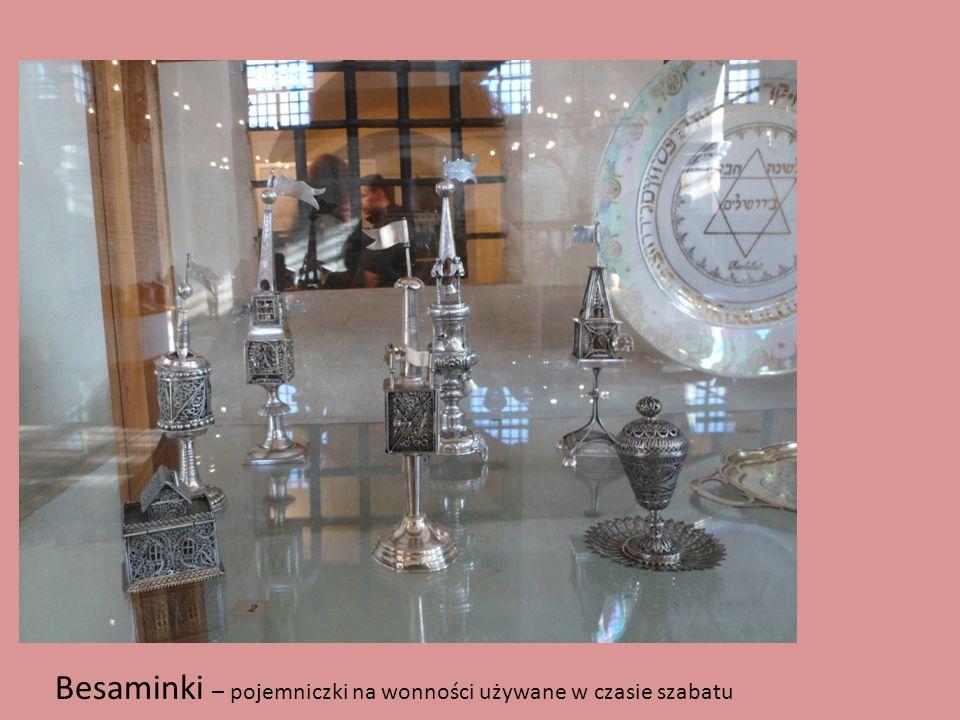 Besaminki – pojemniczki na wonności używane w czasie szabatu