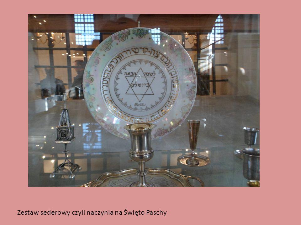 Zestaw sederowy czyli naczynia na Święto Paschy