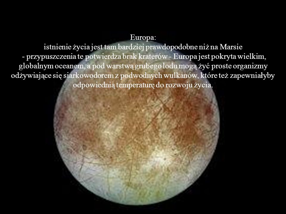 Kallisto: drugi pod względem wielkości księżyc Jowisza, usiany wieloma kraterami.