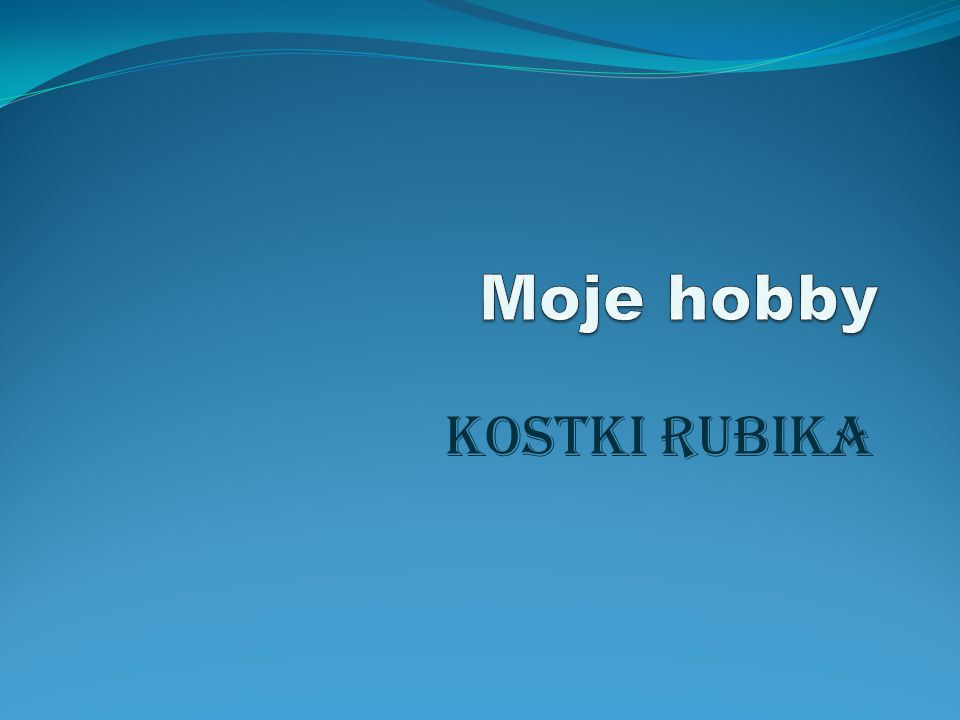 Krótka historia kostki rubika Kostka Rubika – popularna zabawka logiczna wynaleziona przez Ernő Rubika w 1974 roku.