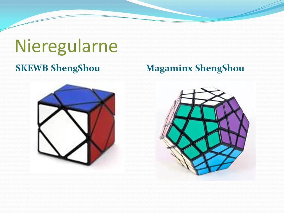 Nieregularne SKEWB ShengShou Magaminx ShengShou