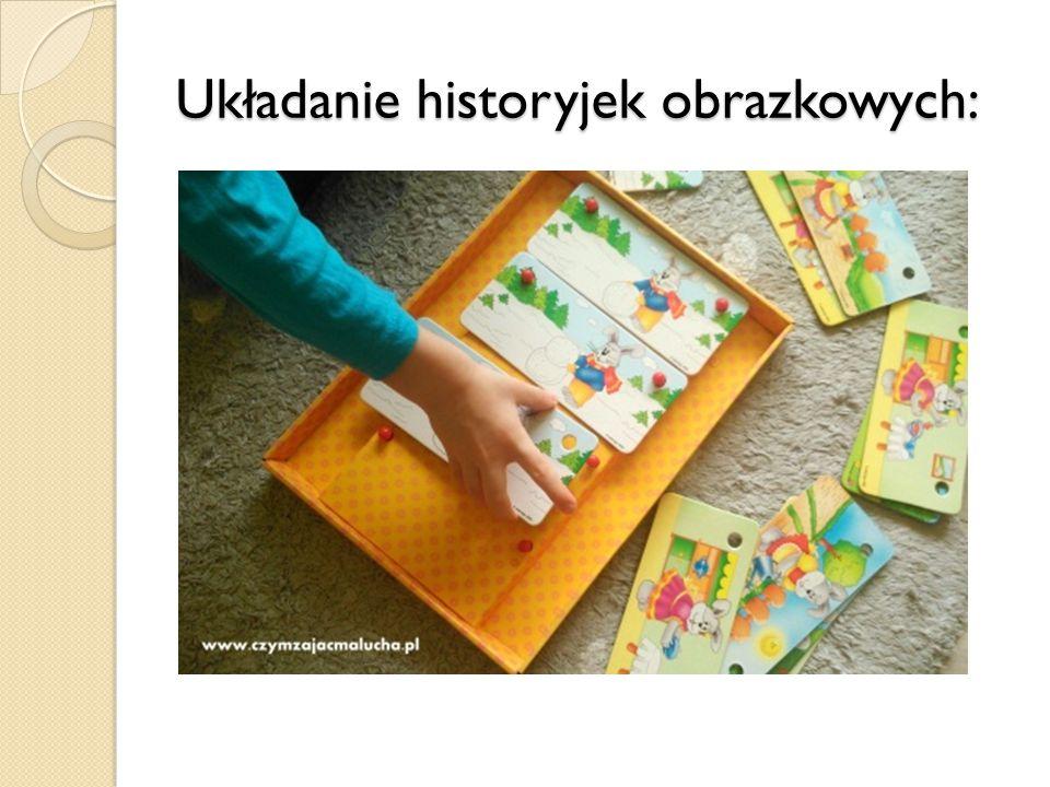 Układanie historyjek obrazkowych: