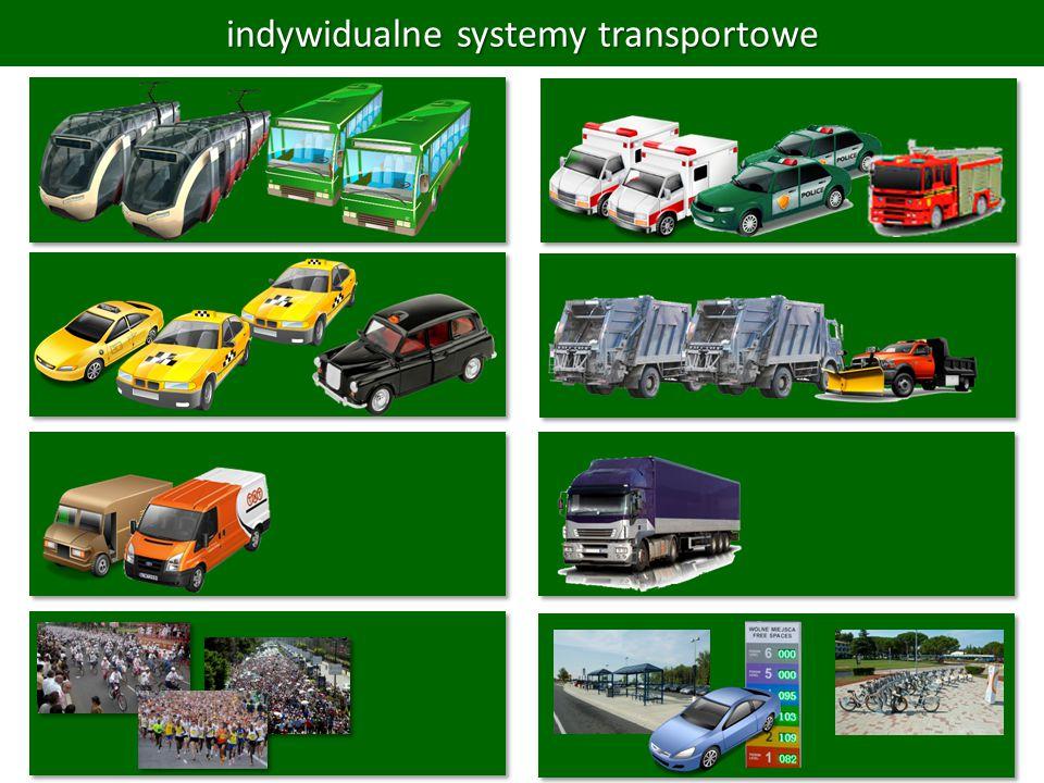 indywidualne systemy transportowe