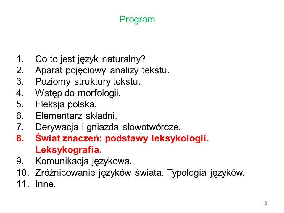 –23 Leksykografia jednojęzyczna i dwu-(wielo-)języczna (1L//2L-lexicography).