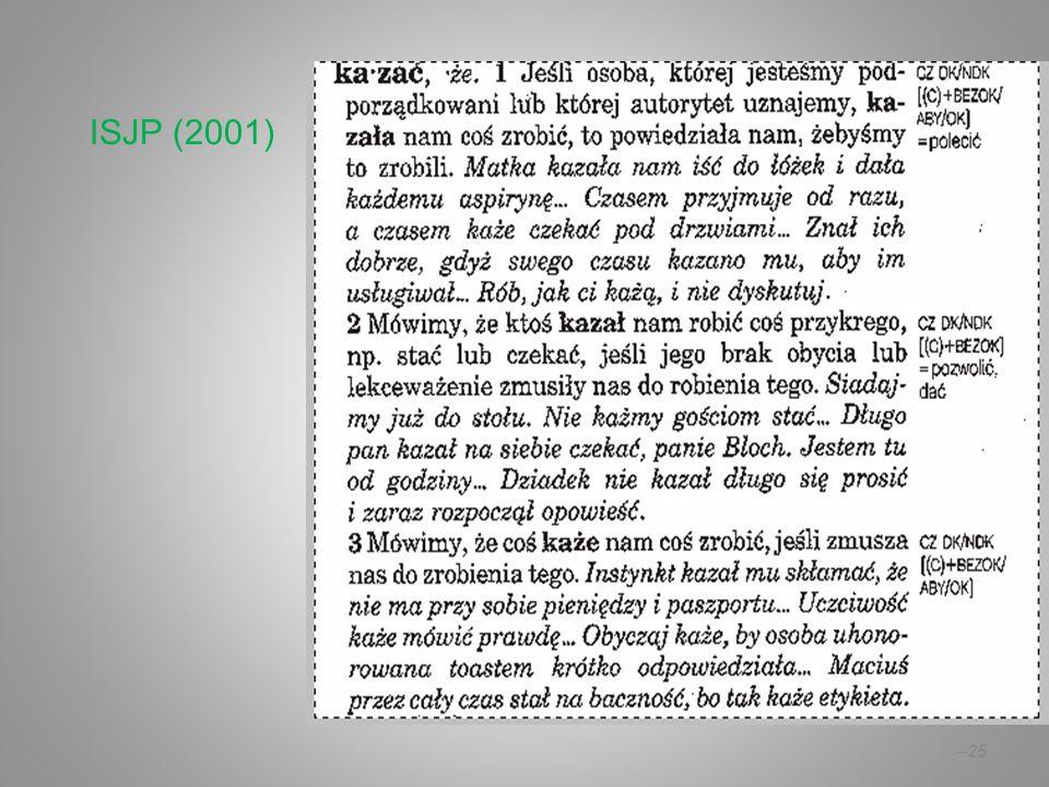 –25 ISJP (2001)